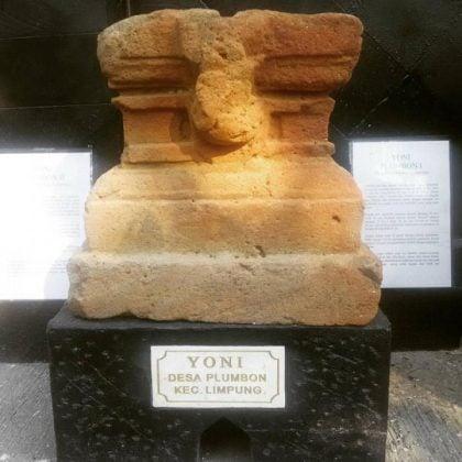 Yoni bukti peradaban Kab. Batang