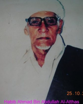 Habib Ahmad bin Abdullah bin Thalib Al-Atthas
