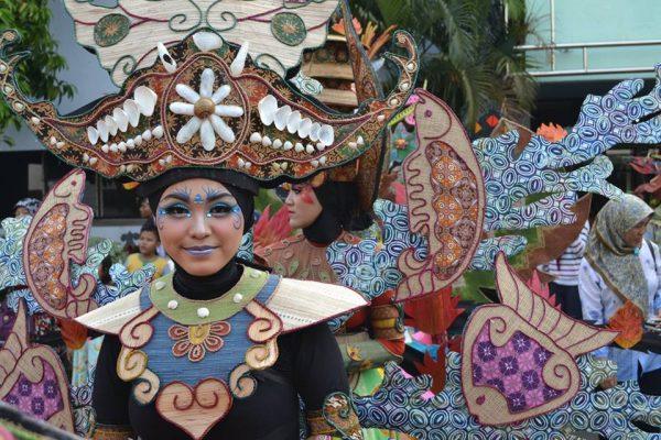 karnaval Batik Pekalongan 2015