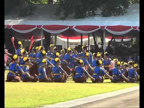 Tari Batik Jlamprang di istana negara 2013