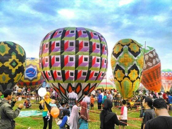 Tradisi Balon Udara Pekalongan