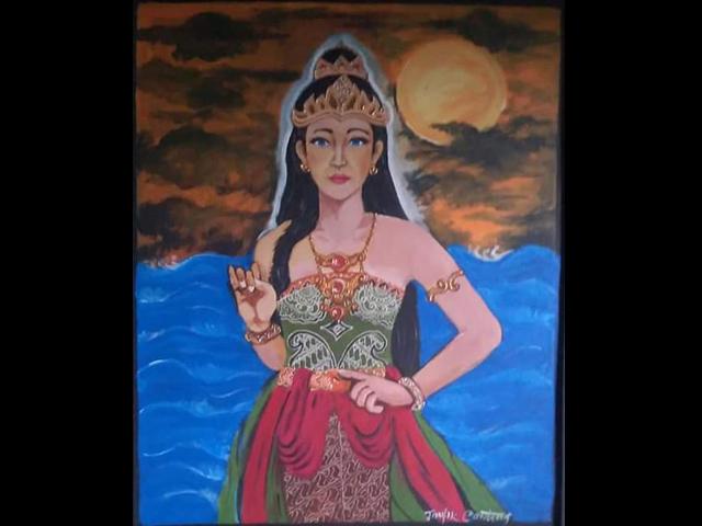 Kisah Legenda Asal Usul Dewi Lanjar Cintapekalongan Com Ruang Informasi Kreasi