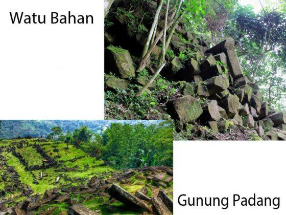 Kesamaan Watu Bahan dan Gunung Padang