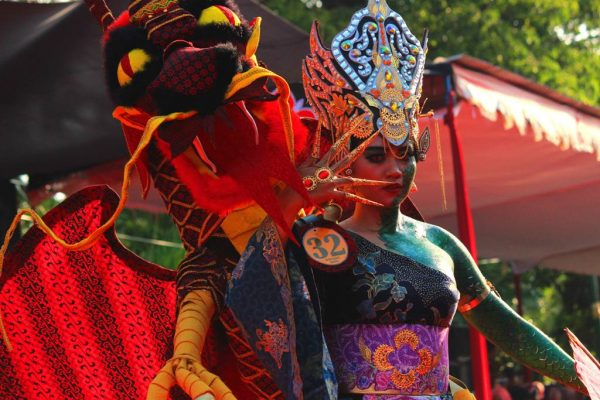 Kostum Karnaval Batik Pekalongan