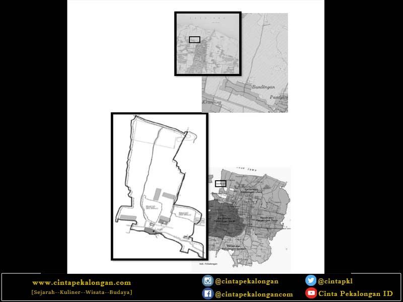 Peta Wilayah Kelurahan Bandengan