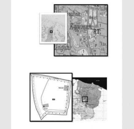 Peta Kelurahan Kauman Pekalongan