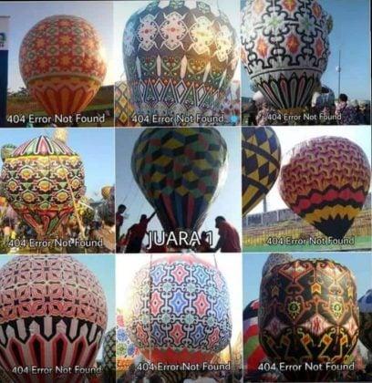 Pemenang Festival Balon Pekalongan