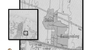 Peta Jadul Kelurahan Dekoro