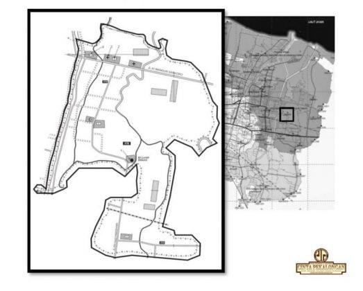 Peta Kelurahan Dekoro Sekarang