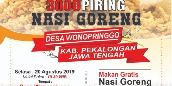 Festival 3000 Piring Nasi Goreng 2019