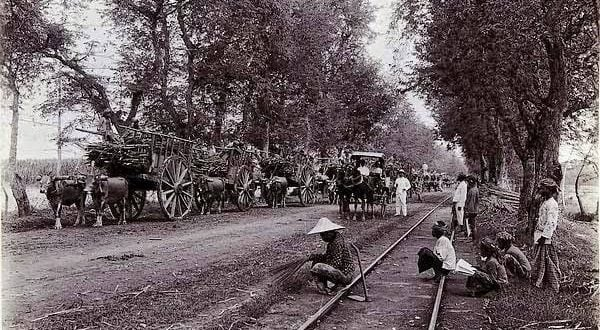 Jalur Kereta Api Pekalongan Kota Jaman Dahulu