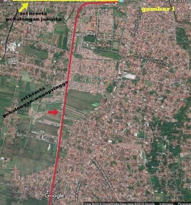 Jalur Kereta Dalam Kota Pekalongan