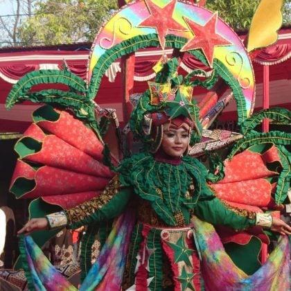 Kostum Karnaval Batik Pekalongan 2019