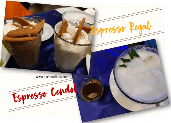 Es Espresso Cendol dan Regal