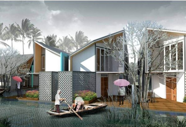 Desain Rumah Amfibi