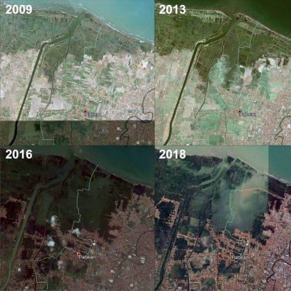 Wilayah Dampak Banjir Rob Pekalongan