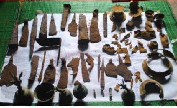 Benda Purbakala di Situs Yosorejo Petungkriyono