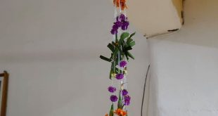 Tradisi Bunga Sumping Hari Raya