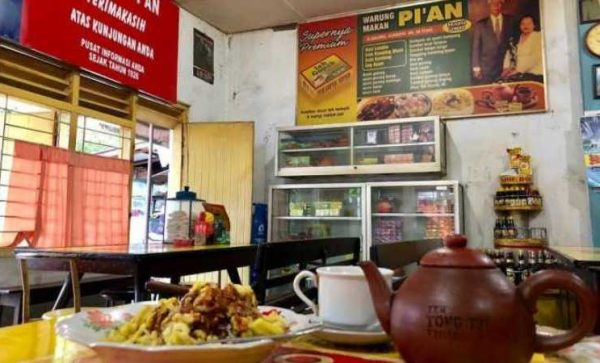 Warung makan Pi'an