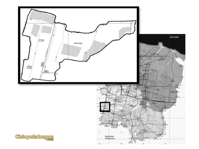 Peta Wilayah Desa Bumirejo