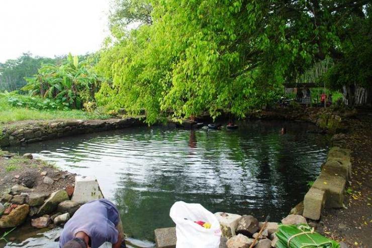 Situs Bale Kambang Batang (Dokumentasi agustijianto)