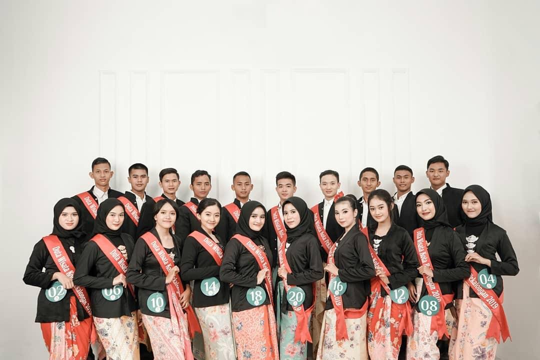 Finalis Mas Mbak Duta Wisata Kota Pekalongan 2019