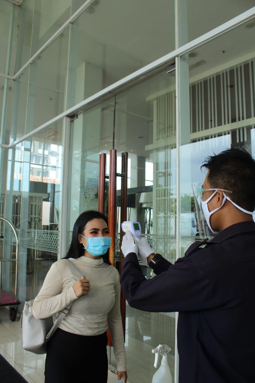 Protokol Kesehatan di Hotel Santika Pekalongan