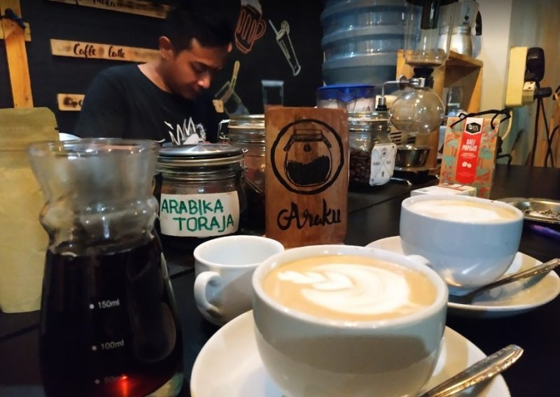 Cafe Kendal Kedai Araku