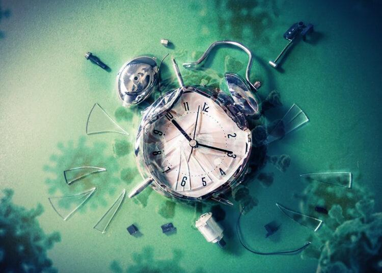 clock & covid-19