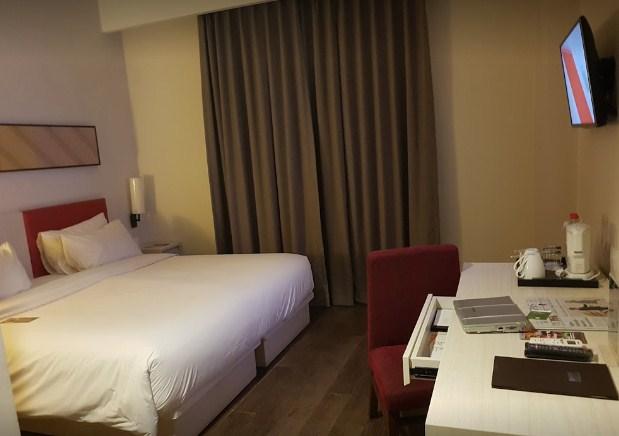 Kamar Hotel Santika Pekalongan